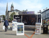 Creation trailer/roadshow in Lisburn