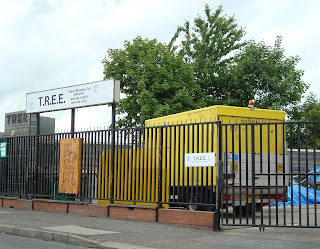 Donegall Road, Belfast - tree recycling firm