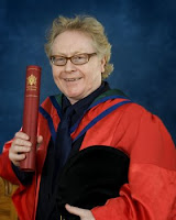 Paul Brady graduating at the University of Ulster