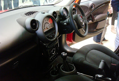 Interior of Mini Countryman