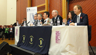 Panellists at 2010 East Belfast Speaks Out