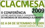 II Conferência Latino Americana e Caribenha de Medidas de Segurança Alimentar