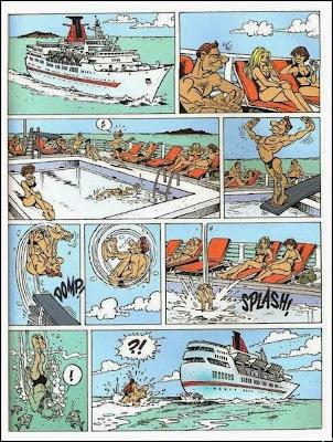 cruzeiro, viagem, quadrinhos, sátira