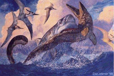 Dinosaur duels #3: Tylosaurus vs Megalodon - Dinosaurs Forum