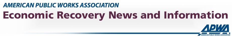 APWA Recovery Updates