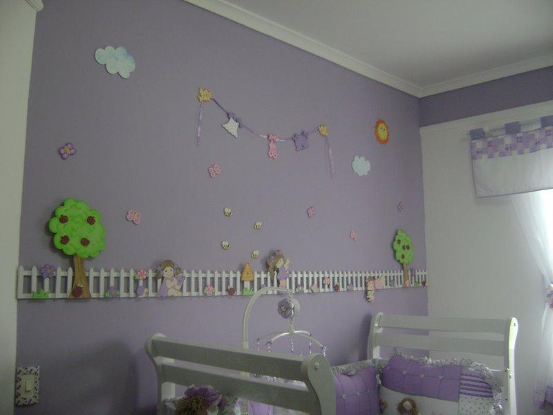 Ateliê Colorê Decoração de quartos infantis Quarto meninas e o varal de roupas!