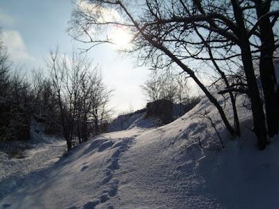 Дорога на холм