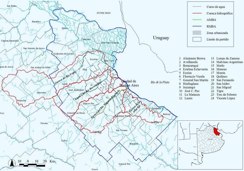 deshonestidad intelectual Cordilleras y Cuencas el Mapa no es el