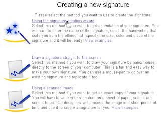 Cara Membuat Tanda Tangan di Bawah Posting