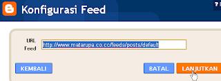 Cara Memasang Widget Posting Terbaru