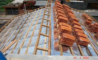 Manta impermeável para telhado