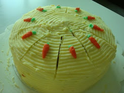 Carrot Cake with c/chesse frosting