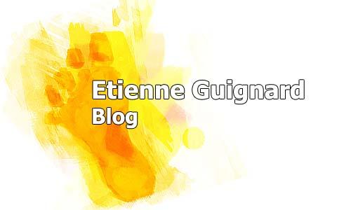 Etienne Guignard Blog