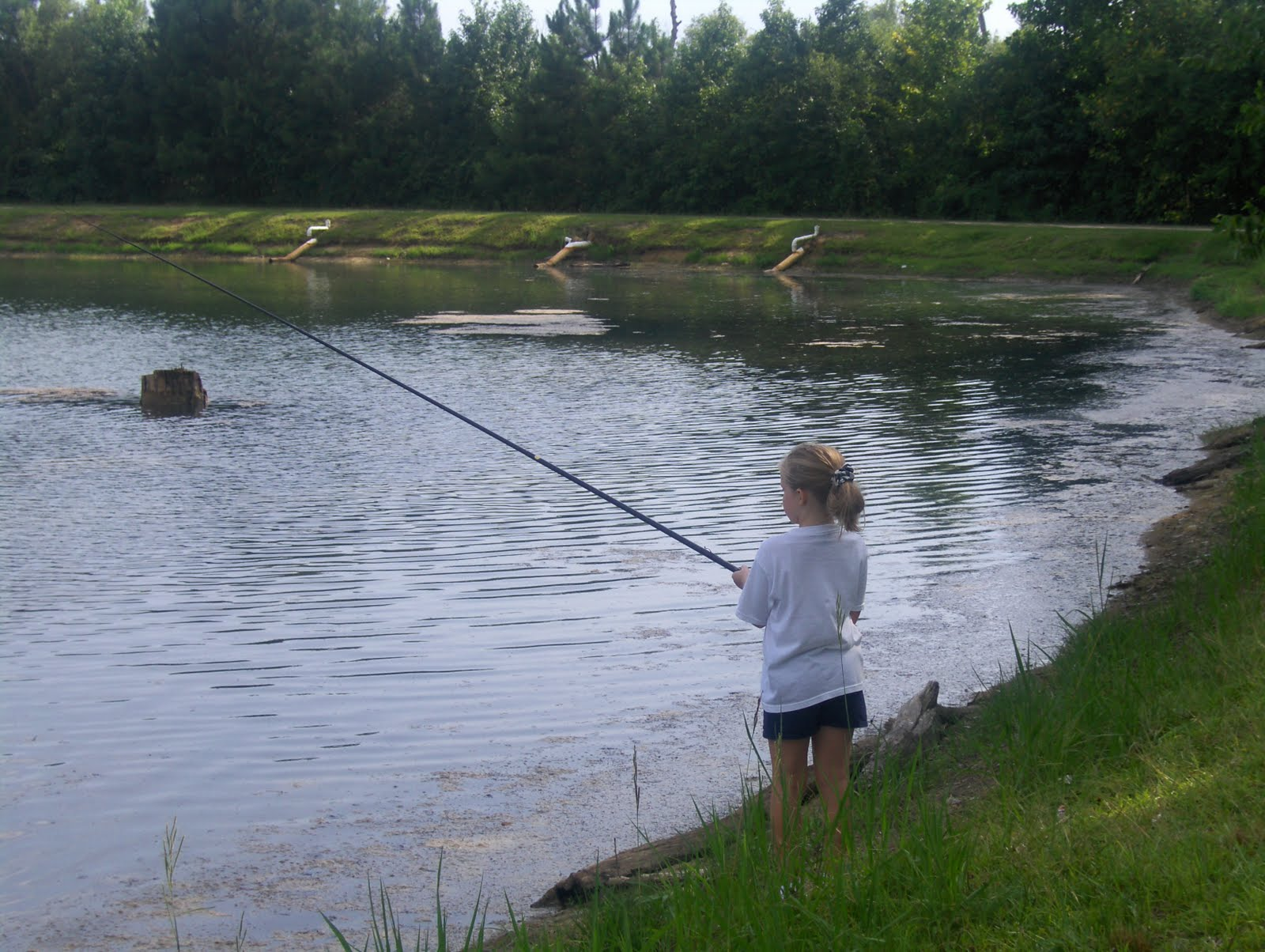 Every now and then gone fishing and swiming at summer camp for Fishing summer camp