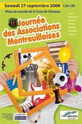 Journée des associations Montreuilloises - Samedi 27 Septembre 2008