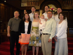 Putnam Family at Liv's baptism