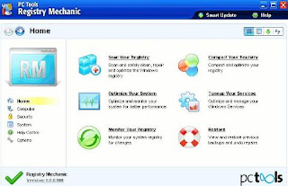 Free License Key PC Tools Registry Mechanic 8