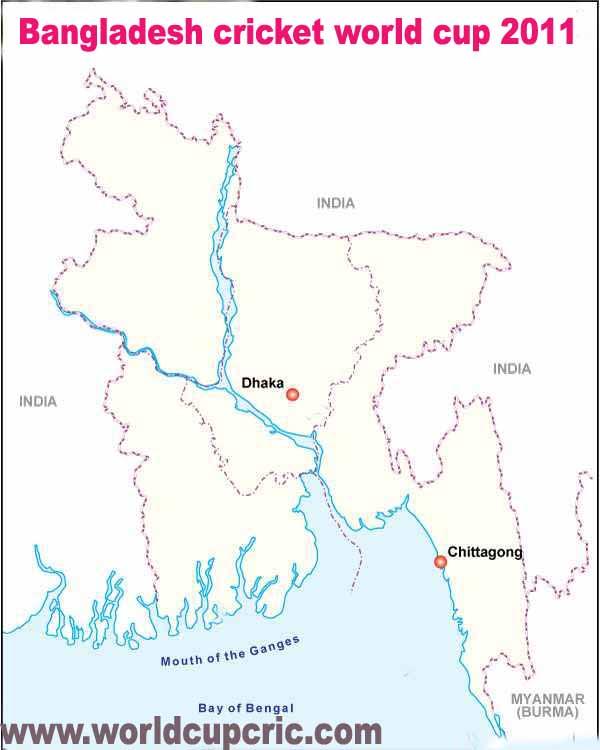 2011 Cricket World Cup Bangladesh Venue – Dhaka - Chittagong