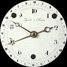 Reloj horario decimal