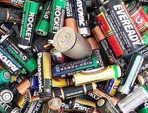 Reciclaje de pilas usadas