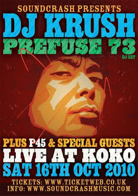 DJ Krush & Prefuse 73 Competition Reminder
