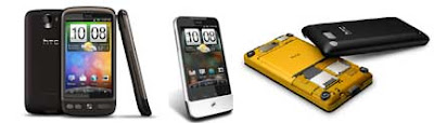 HTC Desire, Legend and HD Mini