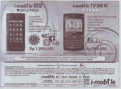 i-Mobile 6010 and 640 TV