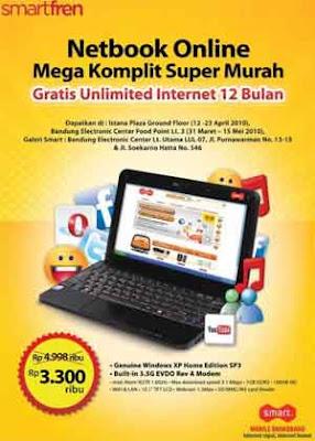 Netbook Smartfren Online