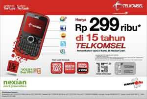 Nexian G381i QWERTY Telkomsel