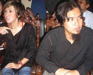 Maia dan Ahmad Dhani