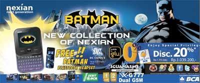 Nexian NX-G777 Batman