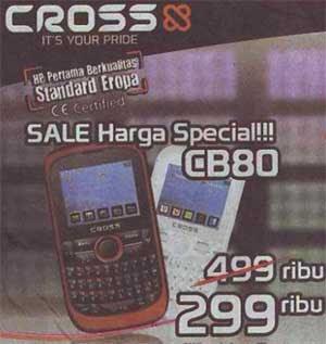 Crossx CB80