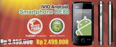 IVIO DE88 Android Flexi