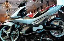 Modifikasi Yamaha Lexam LX