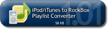 Download iPod/iTunes to RockBox Playlist Converter