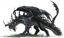 Radlin, the evil dragon that attacked Laurel and Cerelda. He belongs to Melkor.