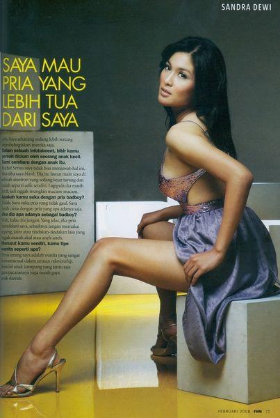 Sandra Dewi FHM