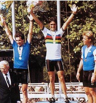 Cycling art blog 1984 world road race barcelona