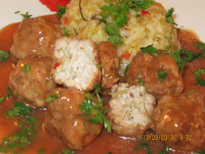 Articole culinare : Chiftelute marinate