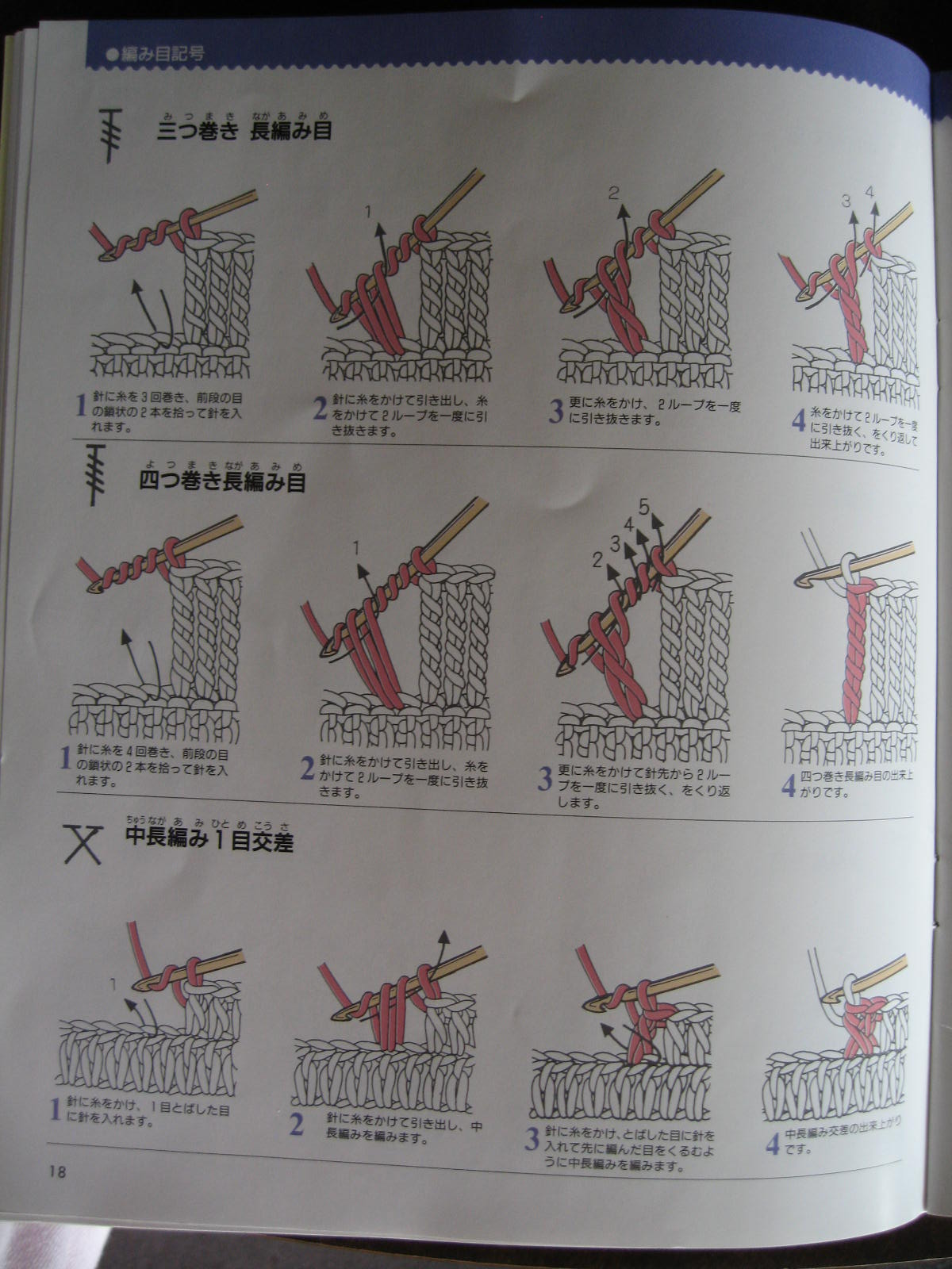 Blurt Blogger  Japanese Diagram Crochet Explained
