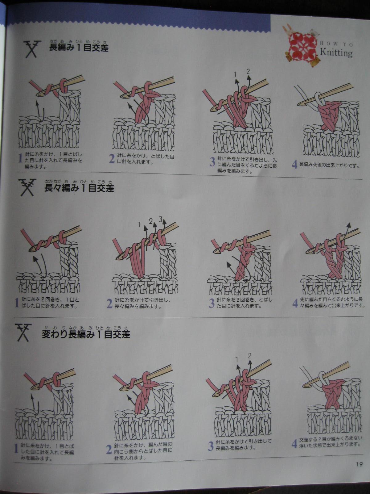 Blurt Blogger  Japanese Diagram Crochet Explained