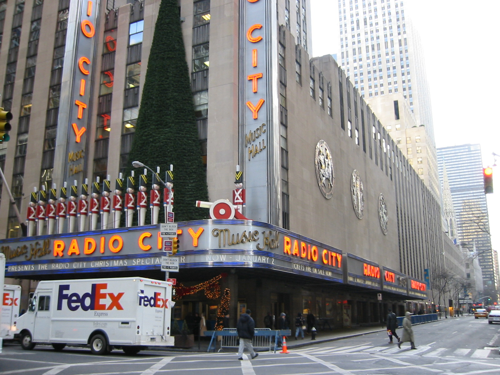 radio city music hall opens 
