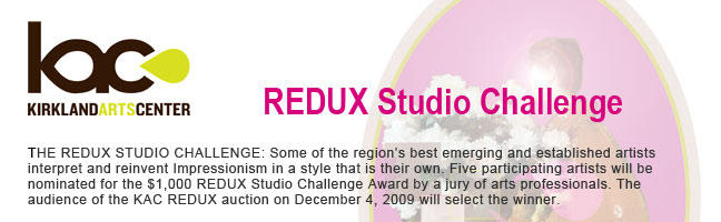 Kirkland Arts Center: REDUX Studio Challenge