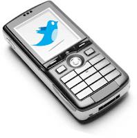Twtter Handphone