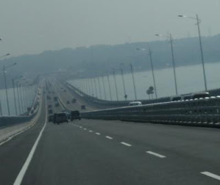 Madura dari Jembatan Suramadu