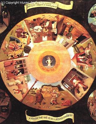 Historia del arte el bosco - La mesa de los pecados capitales ...