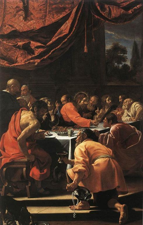 Historia del arte la pintura barroca francesa for Cenas francesas