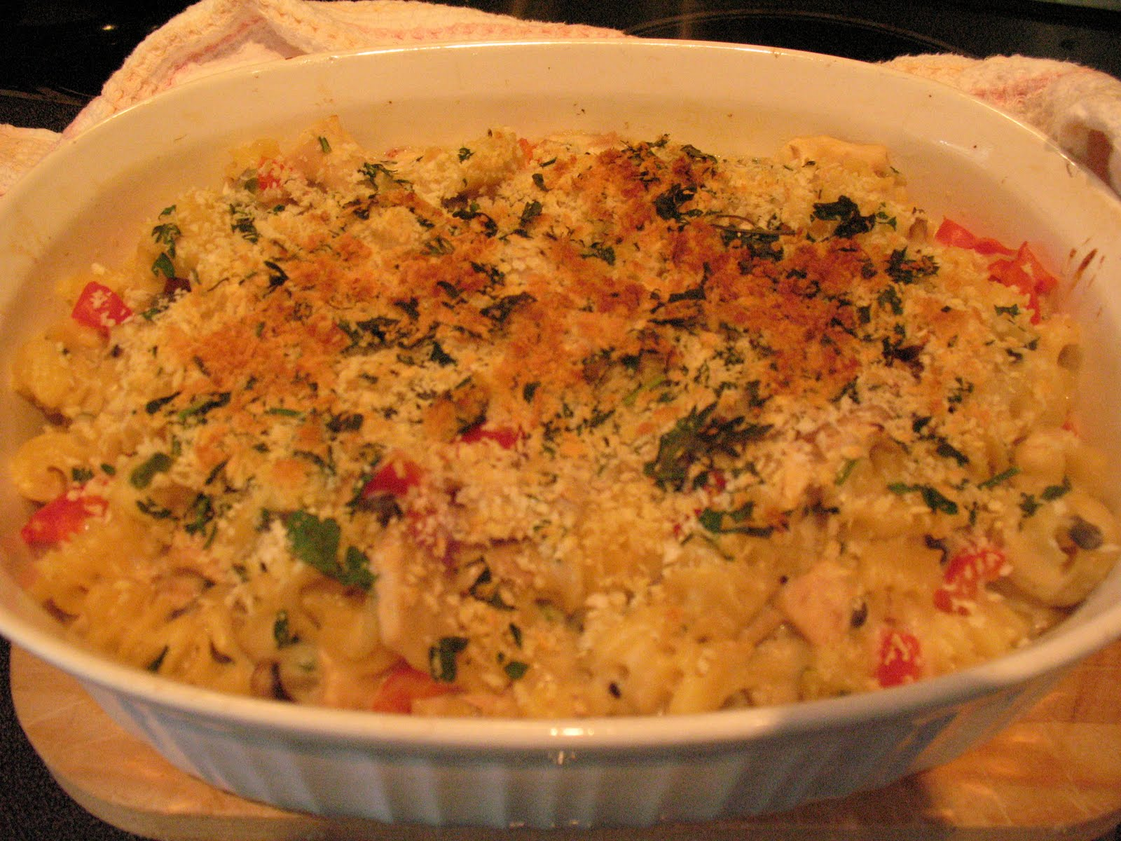 Anna 39 s table tuna fish casserole not your mama 39 s tuna for Tuna fish casserole recipe