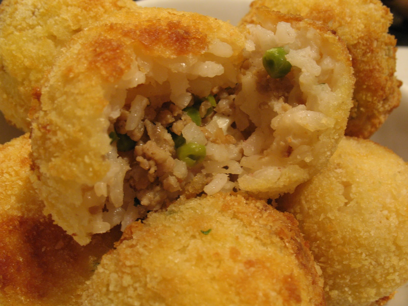 Anna's Table: Arancini....Stuffed Rice Ball Fritters