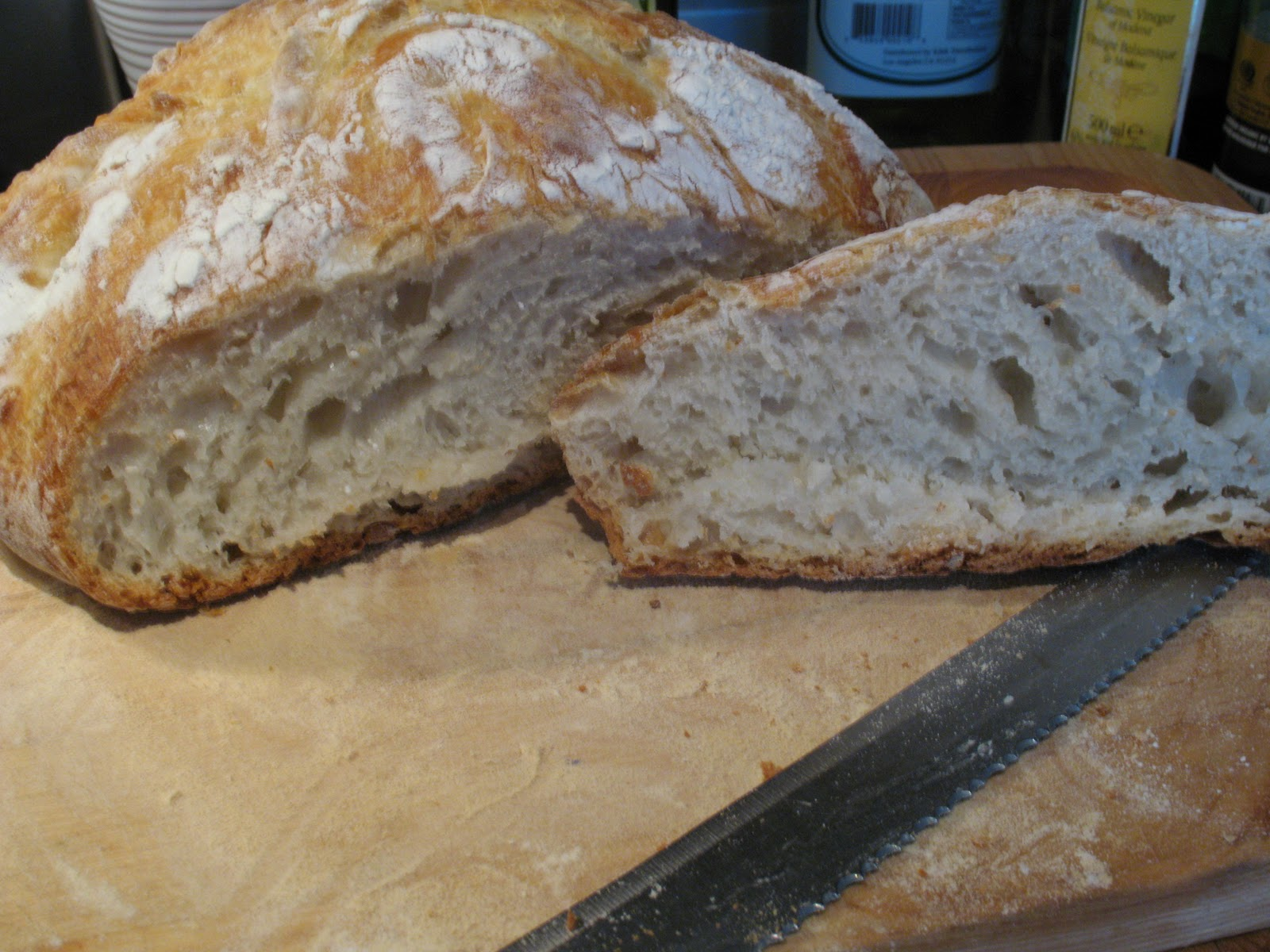 Anna's Table: Rustic Artisanal No-knead Bread